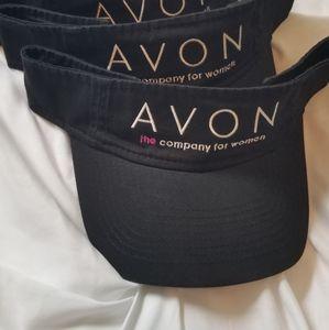 NEW Avon Logo Sun Visor Hat